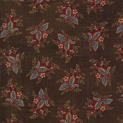Maria's Sky 1840-1860 By Betsy Chutchian For Moda - Chocolate