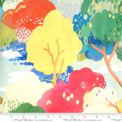 Fanciful Forest By Momo For Moda - Multi - Leaf