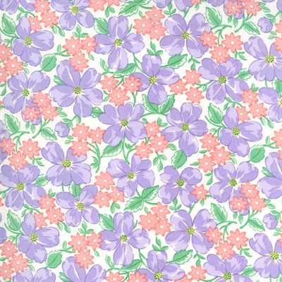 30's Playtime By Chloe's Closet For Moda - Lilac