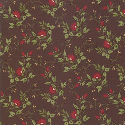 Glad Tidings By Jo Morton For Moda - Dark Brown