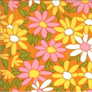 A Blooming Bunch By Maureen Mccormick For Moda - Cheddar
