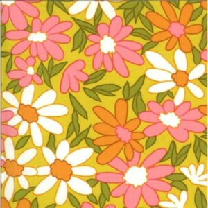 A Blooming Bunch By Maureen Mccormick For Moda - Citrine