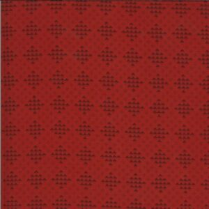 Redwork Gatherings By Primitive Gatherings For Moda - Light Red