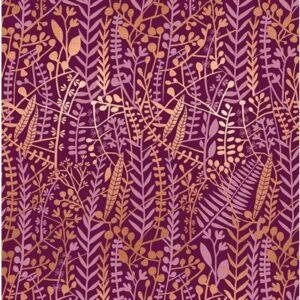 Airflow By Sasha Ignatiadou Of Ruby Star Society For Moda - Purple Velvet