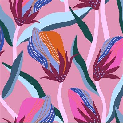 Airflow Rayon By Sasha Ignatiadou Of Ruby Star Society For Moda - Kiss