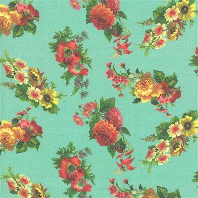 Flea Market Mix Digital By Cathe Holden For Moda - Patina