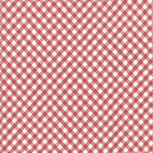 Branded By Sweetwater For Moda - Cream - Apple Red