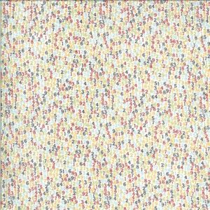 Animal Crackers By Sweetwater For Moda - Vanilla - Multi - Brushed