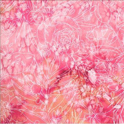 Moody Bloom By Create Joy Project For Moda - Fuchsia