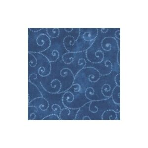 Marble Swirls By Moda - Royal Blue