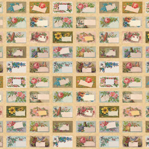 Flea Market Mix Digital By Cathe Holden For Moda - Parchment