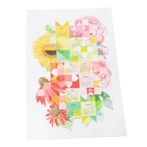 Sew Happy Calendar Towels 2021 By Moda - Multiple Of 6