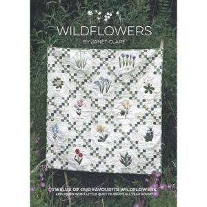Wildflowers Book By Janet Clare For Moda