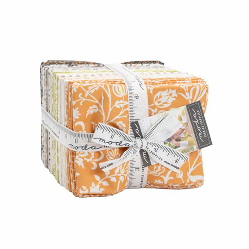 Pumpkins And Blossoms By Fat 1/4\'s By Moda - 38 Pcs