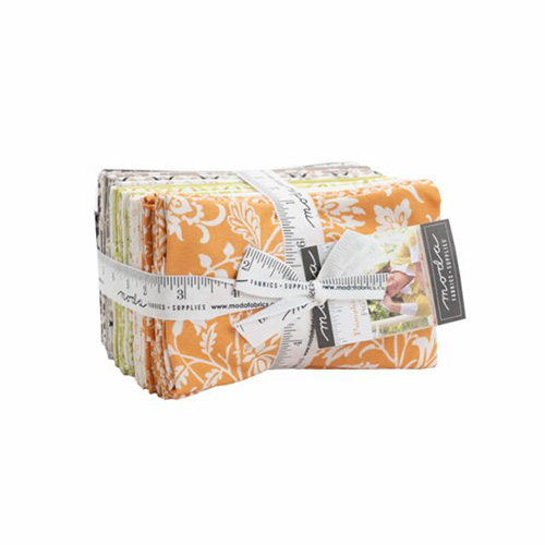 Pumpkins And Blossoms By Fat 1/8\'s By Moda - 38 Pcs