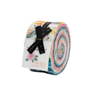Stay Gold Jelly Rolls By Moda - Packs Of 4