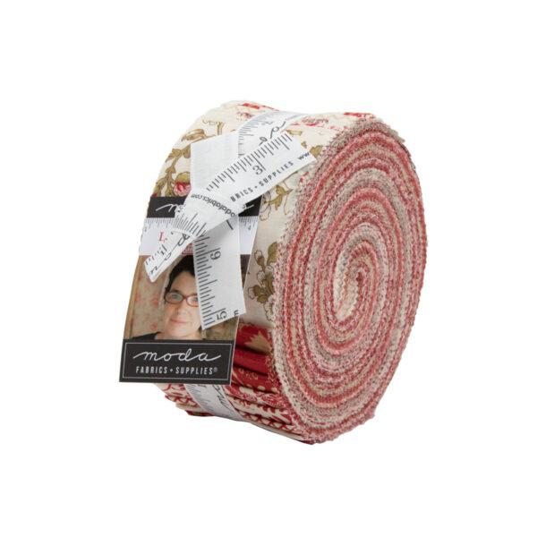 La Rose Rouge Jelly Rolls By Moda - Packs Of 4