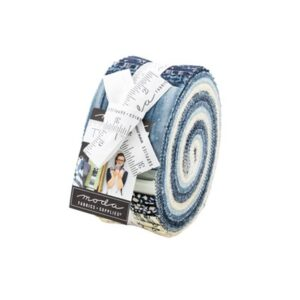 The Blues Jelly Rolls By Moda - Packs Of 4