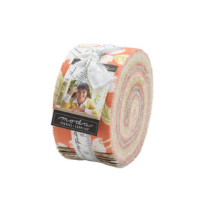 Strawberries And Rhubarb Jelly Rolls By Moda - Packs Of 4
