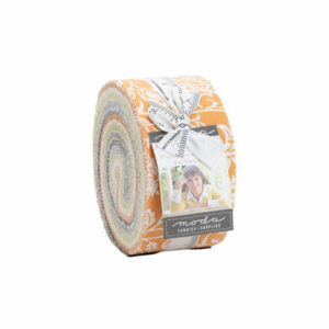 Pumpkins And Blossoms Jelly Rolls By Moda - Packs Of 4