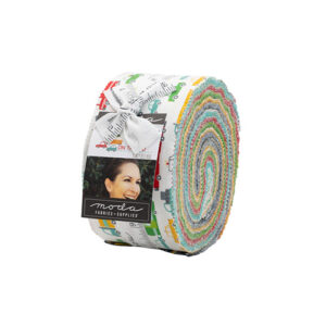On The Go Jelly Rolls By Moda - Packs Of 4