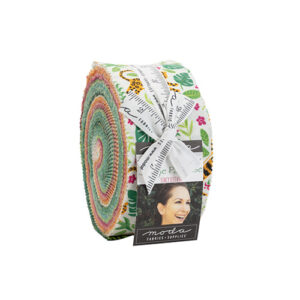 Jungle Paradise Jelly Rolls By Moda - Packs Of 4