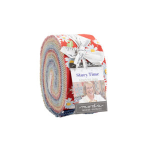 Story Time Jelly Rolls By Moda - Packs Of 4