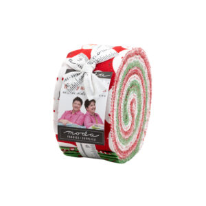 Merry And Bright  Jelly Rolls By Moda - Packs Of 4