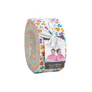 Petal Power Jelly Rolls By Moda - Packs Of 4