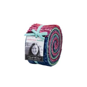 Confection Batiks Jelly Rolls By Moda - Packs Of 4