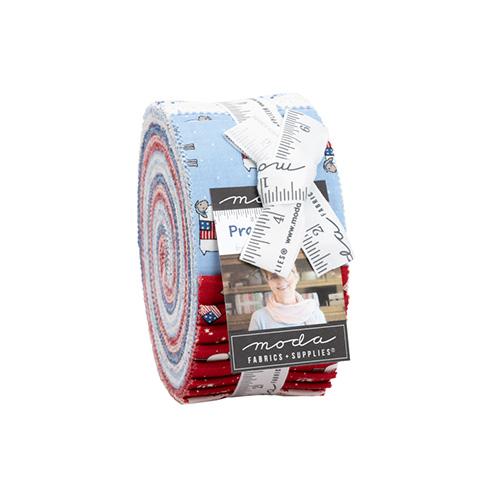 Prairie Days Jelly Rolls By Moda - Packs Of 4
