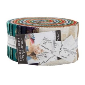 Grunge Metallic Jelly Rolls - Packs Of 4