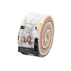 Happy Days Jelly Rolls By Moda - Packs Of 4