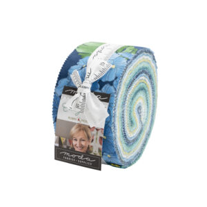 Cottage Blue Jelly Rolls By Moda - Packs Of 4