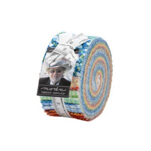 Dreamscapes Jelly Rolls By Moda - Packs Of 4