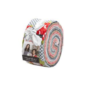 Sunday Stroll Jelly Rolls By Moda - Packs Of 4