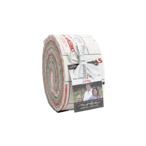 Red Barn Christmas Jelly Rolls By Moda - Packs Of 4