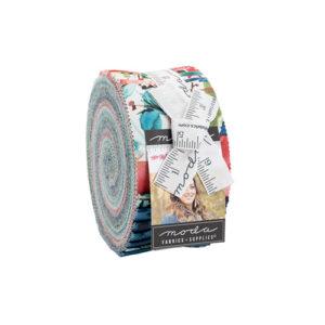 Starflower Christmas Jelly Rolls By Moda - Packs Of 4