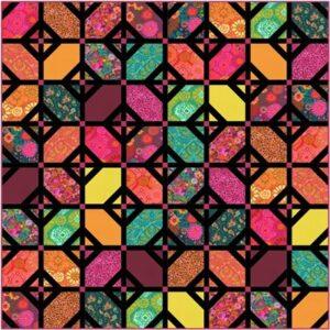 Kasada - Fanciful Floor Kit By Crystal Manning For Moda