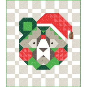 Northern Light - Holiday Bear Kit By Annie Brady For Moda