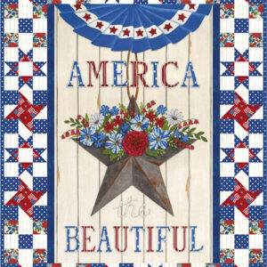 America The Beautiful /Sea To Shiring Sea Kit By Deb Strain For Moda