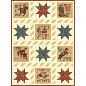 Home On The Range - My Buckaroo Kit By Deb Strain For Moda