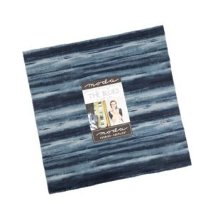 The Blues Layer Cakes By Moda - Packs Of 4