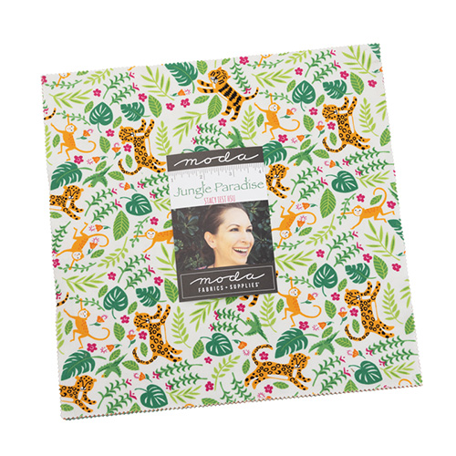 Jungle Paradise Layer Cakes By Moda - Packs Of 4