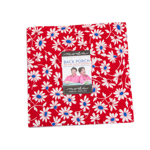 Back Porch Layer Cakes By Moda - Packs Of 4