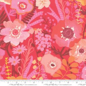 Botanica By Crystal Maning For Moda - Rayon - Geranium