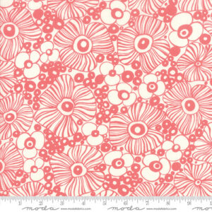 Botanica By Crystal Maning For Moda - Porcelain - Pink