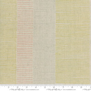 Breeze/Mochi Linen By Zen Chic For Moda - Flax - Gold