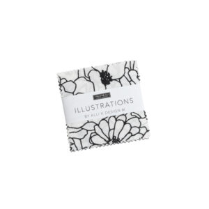Illustrations Mini Charm Packs By Moda - Packs Of 24