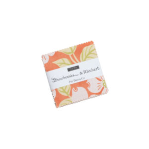 Strawberries And Rhubarb  Mini Charm Packs By Moda - Packs Of 24